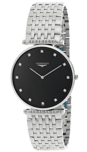 LONGINES La Grande Classique Black Diamond Dial Men's  Watch L47664586