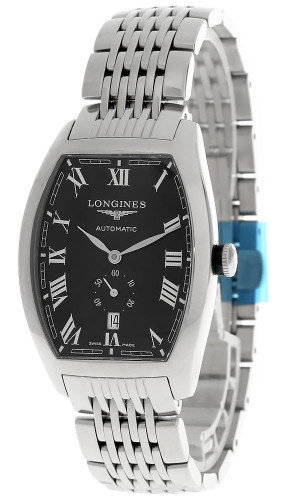 LONGINES Evidenza 38MM Automatic SS Black Dial Men's Watch L26424516