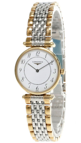 LONGINES La Grande Classique White Dial Two-Tone Unisex Watch L41352137
