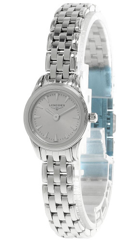LONGINES Flagship 20MM S-Steel SlIver Dial Women's Watch L42154726