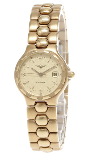 LONGINES Automatic Stainless Steel Gold Dial Women's Watch L11204368