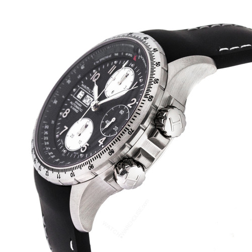 HAMILTON Khaki X-Wind 44MM CHRONO AUTO Rubber Men's Watch H77616333