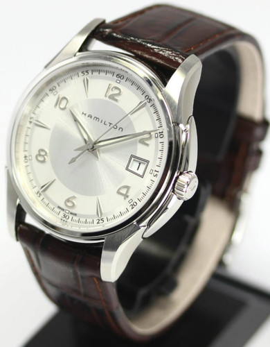 HAMILTON Jazzmaster EOL Silver Dial BRN Leather Men's Watch H32411555