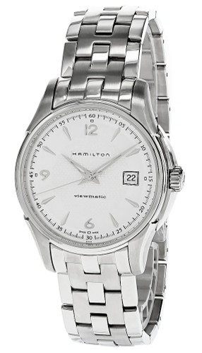 HAMILTON Jazzmaster Viewmatic AUTO S-Steel Silver Dial Watch H32515155