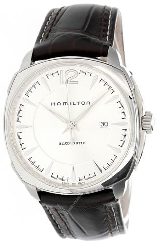 HAMILTON Jazzmaster 43MM Silver Dial Brown LTHR Men's Watch H36515555