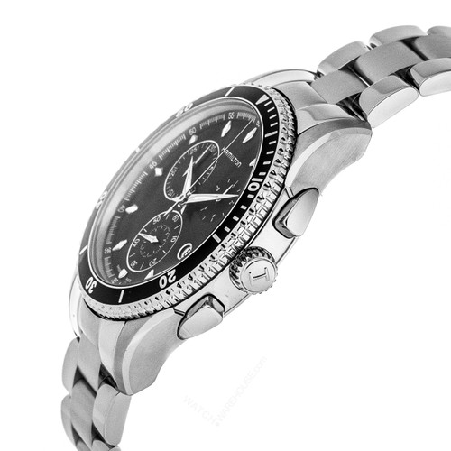 HAMILTON Jazzmaster Seaview 44MM CHRONO SS Men's Watch H37512131