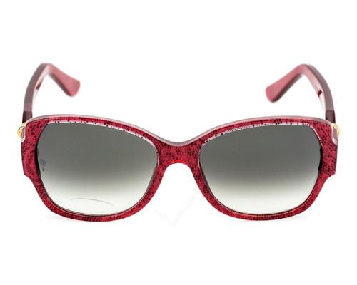 51b86a8a9f084 T8200914 Cartier Trinity Brenice 55mm Red Composite Frame Sunglasses