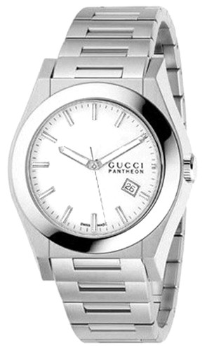 GUCCI Pantheon 44MM Stainless Steel Men's Watch YA115210