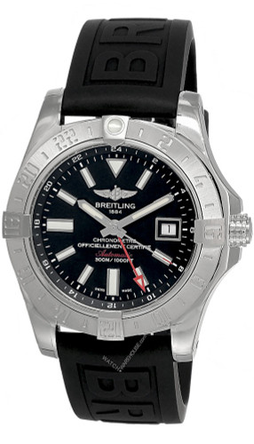 BREITLING Avenger II GMT 43MM AUTO Men's Watch A3239011/BC35/152S/A20S.1