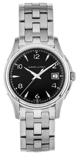 HAMILTON Jazzmaster EOL Black Dial Quartz SS Men's Watch H32411135