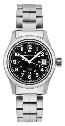 HAMILTON Khaki Field Black Dial 38MM Quartz Men's Watch H68411133