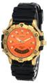 SEIKO Sports 150 Quartz Orange Dial Rubber Men's Watch GS012 Orange
