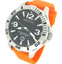 Nautica N15544G BFD 101 Box Set Men's Orange Resin Band Watch