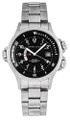 HAMILTON Khaki Navy GMT 42MM AUTO SS Black Dial Men's Watch H77615133