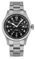 HAMILTON Khaki Officer 44MM AUTO SS Black Dial Men's Watch H70625133