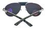 Cartier Santos Louro Faya 61mm Wood Brushed Men's Sunglasses T8200941