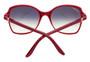 Cartier Double C Décor Burgundy Composite Women's Sunglasses ESW00108