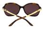 Cartier Trinity Tortoiseshell Composite Women's Sunglasses T8201068