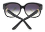 Cartier Trinity Black Composite Gray Lens Women's Sunglasses T8201083