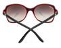 Cartier Double C Décor Black Red Composite Women's Sunglasses ESW00106