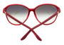 Cartier Double C Décor Burgundy 60/15/140 Women's Sunglasses ESW00104
