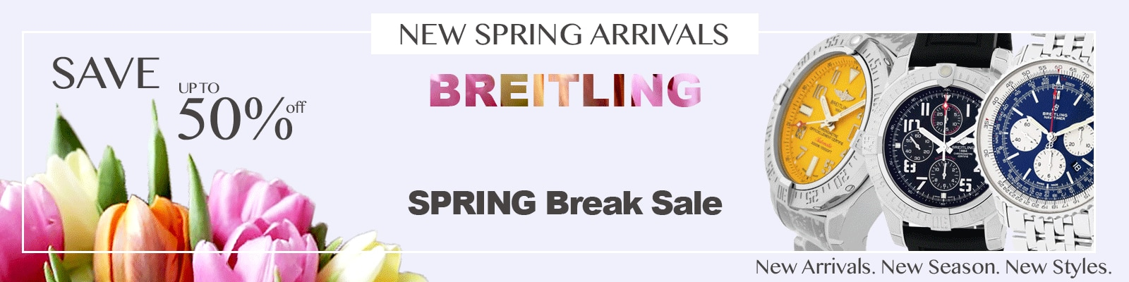 Breitling up to half off