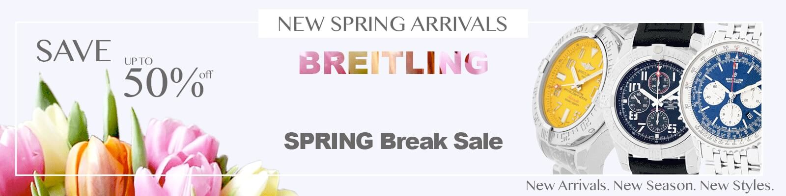 Discount Breitling Mens Watches Up to 50% Off
