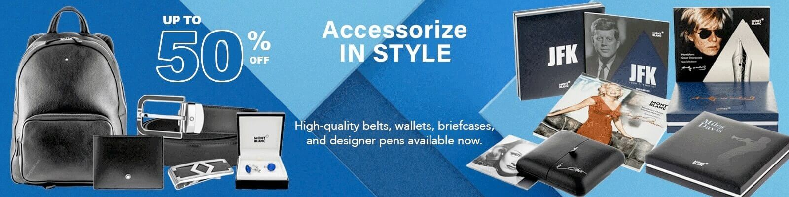 Discount Mont Blanc Accessories Up to Half Off