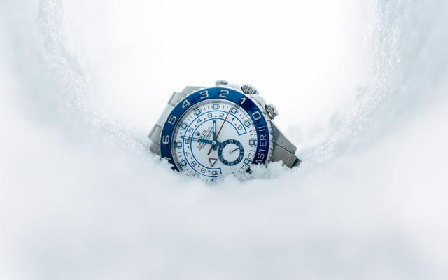 A Rolex GMT Master II timepiece