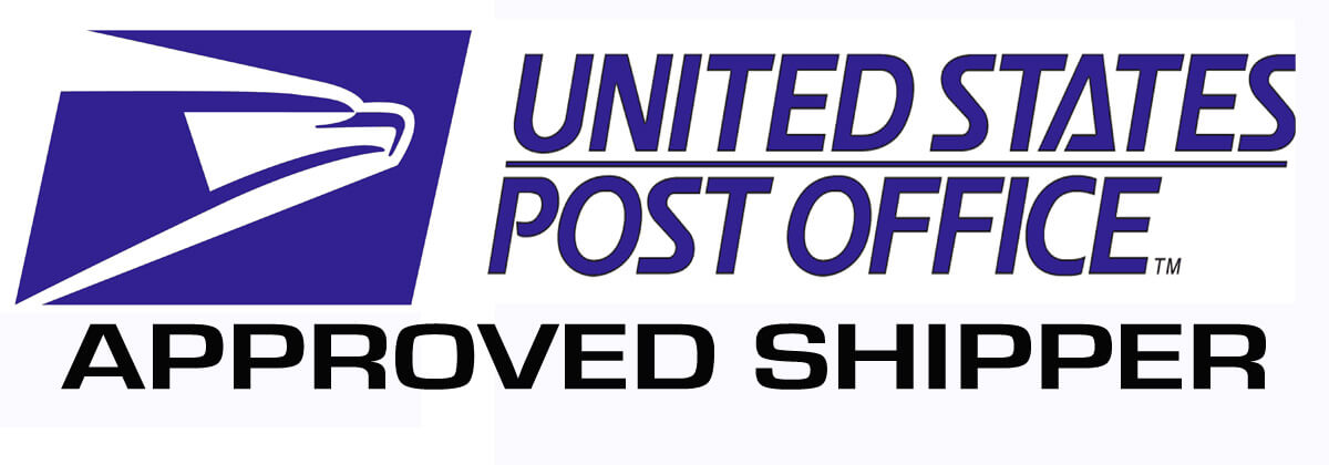 'United States Post Office Approved Shipper' Logo