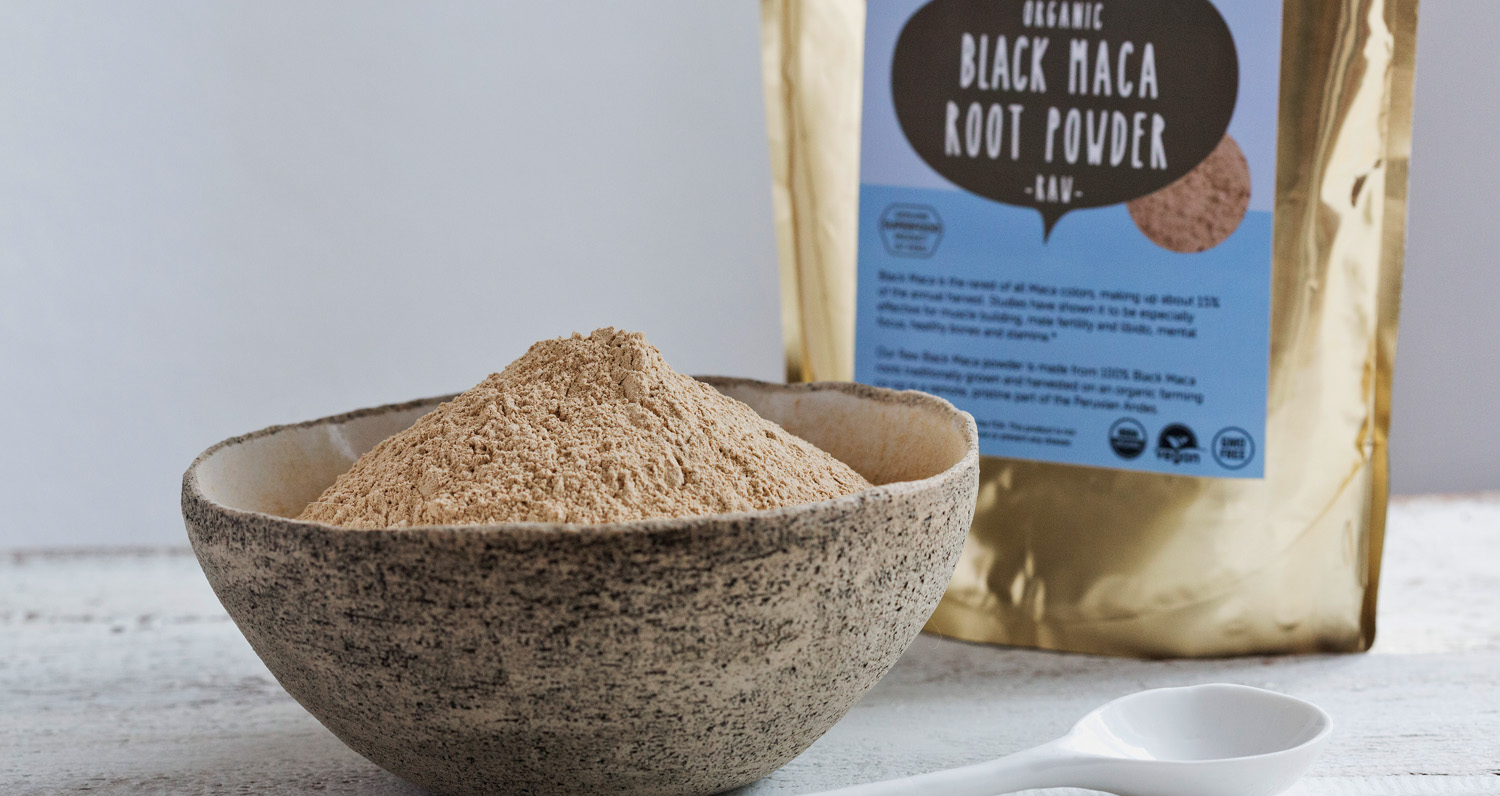 black maca powder benefits