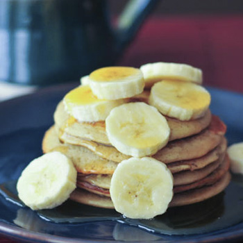 red maca pancakes