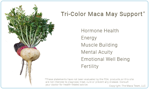 Tri-Color Maca Benefits