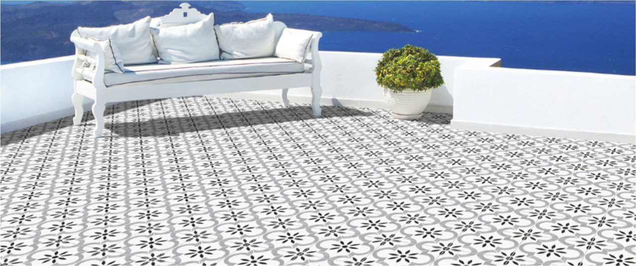 Porcelain Graphic Pattern Tile
