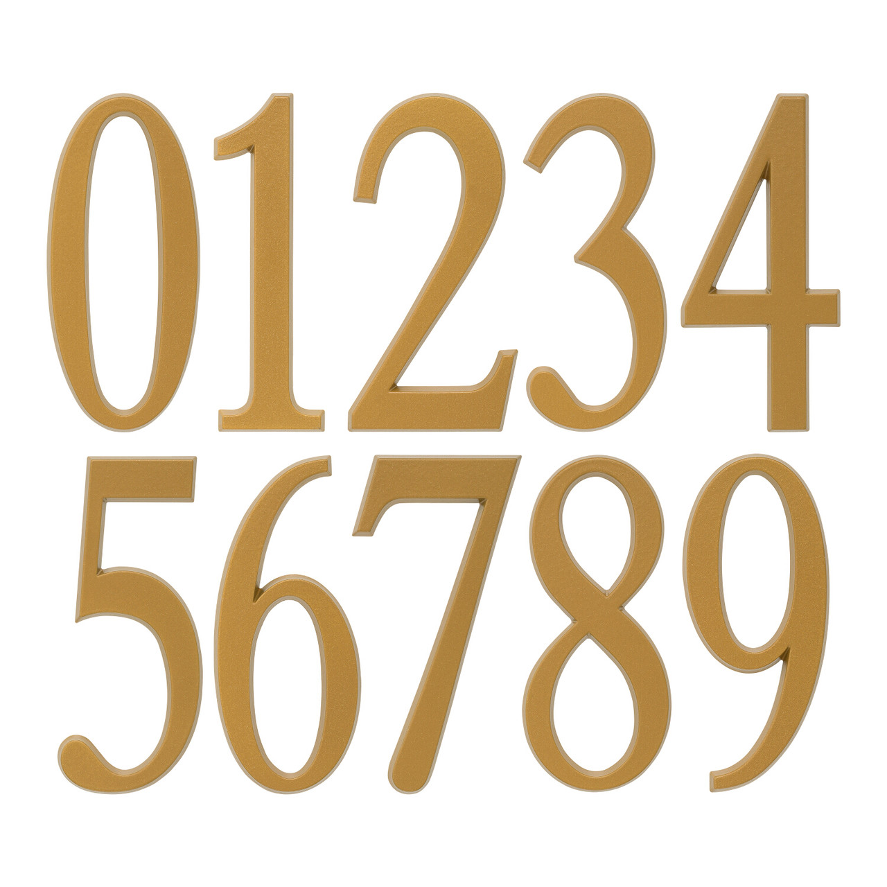 Adhesive House Numbers