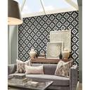 MS International Specialty Shapes Wall Series: Rhombix Nero Pattern Polished Marble Mosaic Tile SMOT-RHOMBIX-NEROP