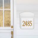 5 Inch Gold Adhesive  House Numbers