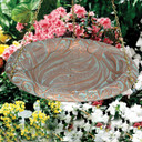 Whitehall Products Copper Verdi Butterfly Hanging Bird Bath