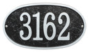 Ships in 4 Days Oval House Numbers Plaque