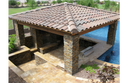 "MS International California Gold Ledger Corner 6"" x 18"" Natural Slate Wall Tile : LPNLSCALGLD618COR"