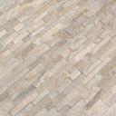 MS International Stacked Stone M Series: Arctic Golden 4.5x16 Split Face Mini Ledger Panel LPNLQARCGLD4.516-MINI