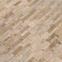 MS International Stacked Stone M-Series: Roman Beige 4.5x16 Split Face Mini Ledger Panel LPNLTROMBEI4.516-MINI