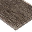 MS International Backsplash Series: Antico Pewter 4x12 Gray Subway Tile SMOT-GL-T-ANTPEW412