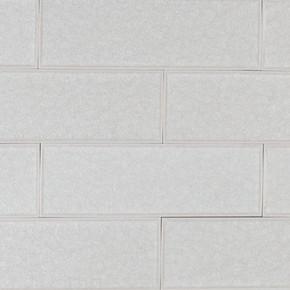 MS International Backsplash Series: Frosted Icicle 3x9 Glass Subway Tile SMOT-GLGG-T-FRIC3X9