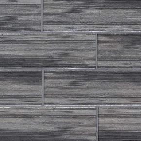 MS International Backsplash Series: Glacier Black 3x9 Glass Subway Tile SMOT-GL-T-GLABLK39