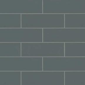 MS International Backsplash Series: Urbano Graphite 4x12 Glossy Ceramic Subway Tile NURBGRA4X12