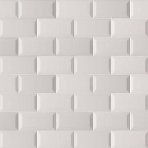 MS International Backsplash Series: Domino Gray 3X6 Beveled Glossy Subway Tile NGRAGLO3X6BEV