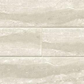 MS International Backsplash Series: Classique Gris Travertine 4X16 Glossy Subway Tile NGRITRAGLO4X16
