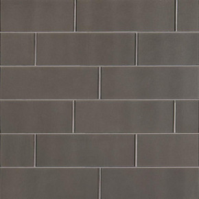 MS International Backsplash Series: Metallic Gray 4x12 Glossy Subway Tile SMOT-GL-T-MG412