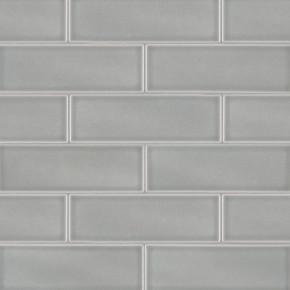 MS International Backsplash Series: Morning Fog Handcrafted 4x12 Glossy Subway Tile SMOT-PT-MOFOG412